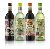 Bear Flag Wines. A Design&Illustration project by Eduardo Bertone - Oct 18 2013 12:00 AM