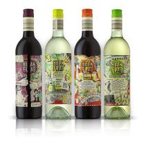 Bear Flag Wines. Un proyecto de Diseño e Ilustración de Eduardo Bertone - Viernes, 18 de octubre de 2013 00:00:00 +0200