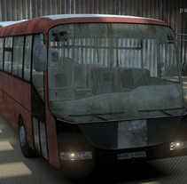 Autobus. A Design, Illustration, and 3D project by Antonio Capa Pena - 20-04-2011