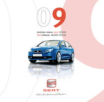 Informe Anual Seat 2009. A Design, and Advertising project by Eric Torralba - Apr 28 2011 03:28 PM
