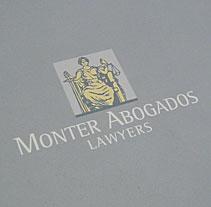 MONTER ABOGADOS. A Design project by ignacio castells         - 01.05.2011