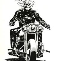 Ghost Rider. Un proyecto de Ilustración de Lopekan :: - 01-05-2011