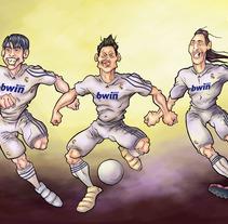 Fútbol. A Design&Illustration project by Jesús Prieto Revuelta         - 18.05.2011