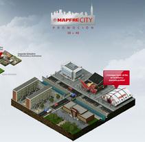 Site interno - Mapfre City. Un proyecto de Desarrollo de software y UI / UX de jonathan martin         - 23.05.2011