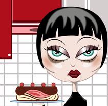 Cake. A Illustration project by Sandra Romero - Jun 02 2011 08:52 PM