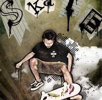 Poster Skateboarding. A Design, Illustration, and Photograph project by Alexander Lorente         - 03.06.2011