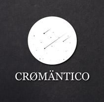 CRØMÄNTICØ, nombre, logotipo, material corporativo página web. A Design, and Software Development project by Lux-fit         - 08.07.2011