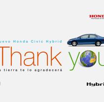 Honda. Un proyecto de Diseño gráfico y Gestión del diseño de le  dezign - Jueves, 23 de junio de 2011 00:00:00 +0200