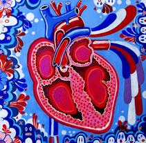 SACRED HEART. Um projeto de Ilustração de Octavio Preciado         - 06.07.2011