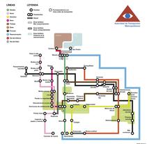 Las cosas como un plano de metro. A Design&Illustration project by Patri Tezanos - 09-07-2011