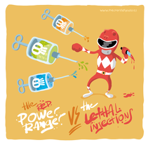 Go! go! Power Ranger. A Illustration project by Héctor Delgado Ros         - 11.07.2011