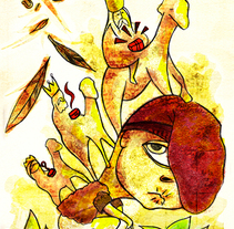 El Caganer. Un proyecto de Ilustración y Publicidad de Miguel de Llobet         - 20.07.2011