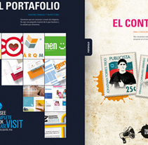 INK - Brochure. A Design, and Advertising project by Fernando Carvantes         - 21.07.2011