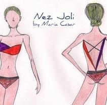 Nez Joli (swimwear). A Design&Illustration project by Nez Joli by Maria Casar         - 23.07.2011