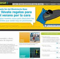 Tiendas de deporte Base. Un proyecto de Diseño, Publicidad y UI / UX de Montse Álvarez         - 12.08.2011