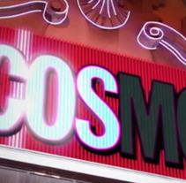 Cosmo Neon. A Design, Motion Graphics, Film, Video, and TV project by Brandia TV         - 31.08.2011