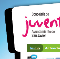 Página web Juventud San Javier. A Design, Illustration, Software Development, UI / UX, IT, and Advertising project by Julien Bonomo - Sep 22 2011 01:04 PM
