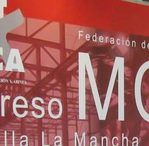 Gráficas congreso. Un proyecto de Diseño de Miguel Angel Lopez Gomez - Sábado, 17 de enero de 2009 00:00:00 +0100