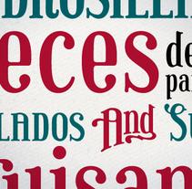 Ultramarina. Un proyecto de Tipografía de Juanjo López - Lunes, 26 de septiembre de 2011 00:00:00 +0200
