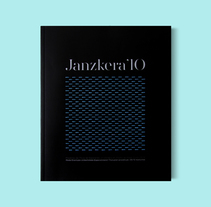 Janzkera '10. Un proyecto de Dirección de arte, Diseño editorial y Diseño gráfico de La caja de tipos  - Lunes, 13 de junio de 2011 00:00:00 +0200