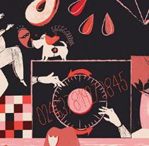 Yorokobu - portada oct'11. Un proyecto de Ilustración de Marisa Morea         - 08.10.2011