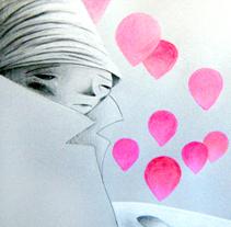 El chico de las estrellas. Un proyecto de Ilustración de Lola Roig - Sábado, 22 de octubre de 2011 12:36:22 +0200