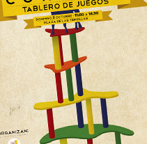 Cartel Córdoba Tablero de Juegos. A  project by dramaplastika - 26-10-2011