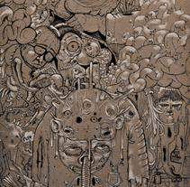 Figuración Gris-I. Um projeto de Ilustração de Natxo  Ramirez Garcia - 08-11-2011
