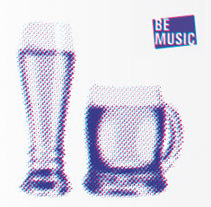 Identidad Corporativa Be Music. A Design project by Daniel Blanco Puig - 03-11-2011