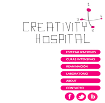 Web Creativity Hospital.. A Design project by La Cabeza - 08-11-2011