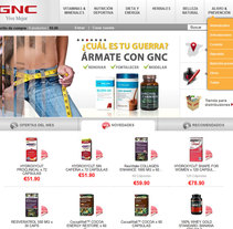 GNC España. A Design, Software Development, and UI / UX project by Luis José Quintana Vázquez         - 15.11.2011