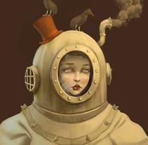 Miss Keaton. Um projeto de Ilustração de Laura Wächter - 06-12-2011