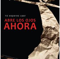 Campaña contra la violencia de genero. Un proyecto de Diseño de Antonio A. Barciela         - 08.12.2011