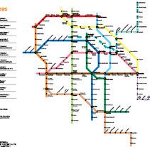 Infografía: Metro DF. A  project by Ilusma Diseño         - 13.12.2011