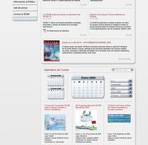 Diseño Web Seom. Un proyecto de Diseño, Instalaciones, UI / UX e Informática de Isaac Viejo - Viernes, 23 de diciembre de 2011 13:57:22 +0100