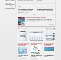 Diseño Web Seom. A Design, Installations, UI / UX&IT project by Isaac Viejo - Dec 23 2011 01:57 PM