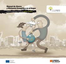 Manual de Ahorro Energético. A Design&Illustration project by Ricardo García         - 05.01.2012
