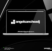 Logotipo: Ángel Sánchez Dj. A Design project by KikeNS         - 05.01.2012