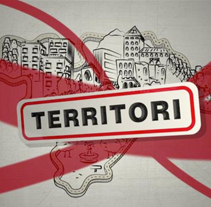 Territori. A Design, Illustration, Advertising, Motion Graphics, Film, Video, and TV project by Omar Lopez Sanchez         - 09.01.2012