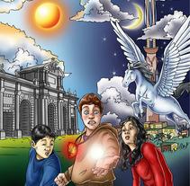 Eric y el Medallón Mágico. A Design&Illustration project by Carlos Venegas Parra         - 10.01.2012