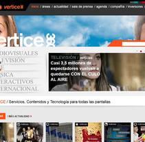 Vértice 360. Um projeto de Desenvolvimento de software de Kasual Studios         - 11.01.2012