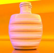 Modelado de frasco de perfume. A Design, Advertising, Installations, and 3D project by Agustín Conca Gil         - 21.01.2012