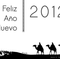feliz2012. Un proyecto de Ilustración de Jesús Valle Aguarod         - 24.01.2012