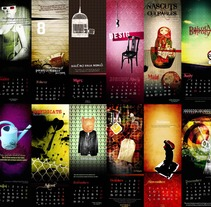 Calendari Vis de Vanadi. Um projeto de Design e Ilustração de Mo Espasa         - 06.02.2012