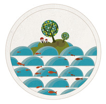 tierra a la vistaa!!. A Illustration, and Advertising project by pedrenland          - 07.03.2012