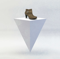 Ana Román Shoes. A Design, Advertising, 3D, Art Direction, Shoe Design, and Editorial Design project by Marco Garcia - Mar 08 2012 12:00 AM