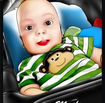 Niño Mathias -  Child Mathias. Un proyecto de Diseño e Ilustración de Jean Merlano         - 16.03.2012