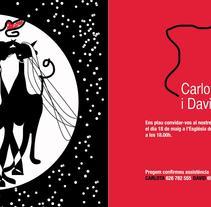 Invitación Boda. Un proyecto de Diseño de Iolanda Domènech         - 27.03.2012