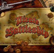 Pirate Battleship. Un proyecto de Diseño de Alberto  Gutiérrez Bárcena - Viernes, 30 de marzo de 2012 22:27:13 +0200