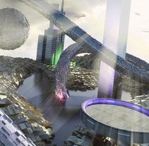 Escena futurista. Un proyecto de Motion Graphics y 3D de Nicolas Junco         - 31.03.2012